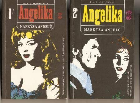 Angelika - markýza andělů 1 a 2 - A. a S. Golonovi