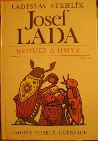 Brouci a hmyz - J. Lada