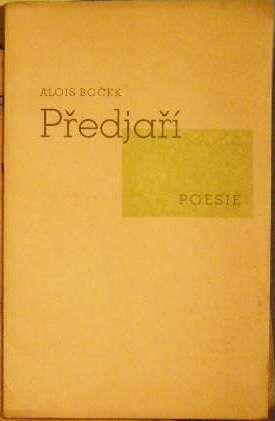 Předjaří - A. Boček (podpis)