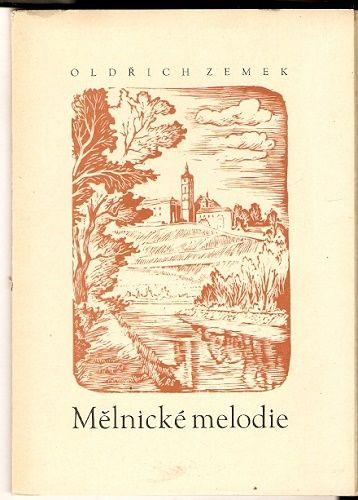 Mělnické melodie - O. Zemek, podpis