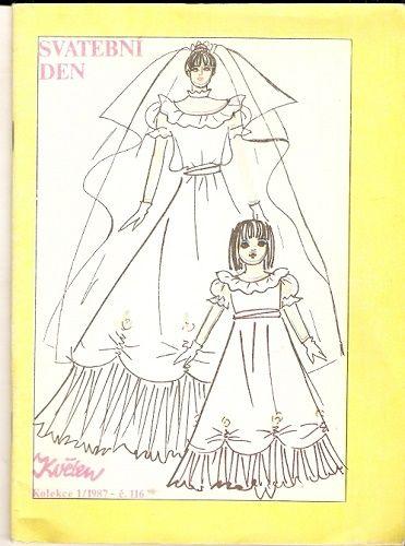 Svatební den (šití) - svatební šaty