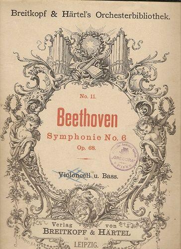Symfonie č. 6, opus 68 - L. van Beethoven - violoncello a basa