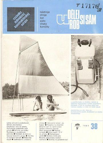 Udělej si sám - např. Dětská plachetnice, Malý kompresor, Malířský stojan atd.