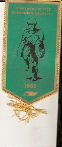 Vlaječka Sportovní soutěž požárních družstev 1982 - Svaz požární ochrany ČSSR