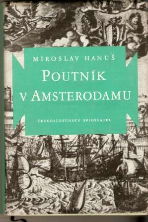 Poutník v Amsterodamu - M. Hanuš (podpis)