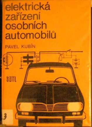 Elektrická zařízení osobních automobilů - P. Kubín