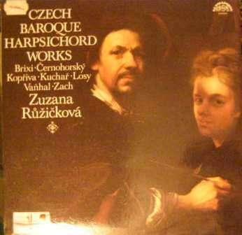 LP Zuzana Růžičková (cembalo) - česká barokní hudba