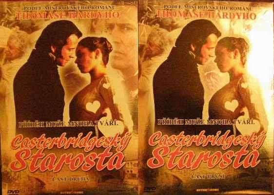 DVD Castenbridgeský starosta 1 a 2 - dle románu T. Hardyho