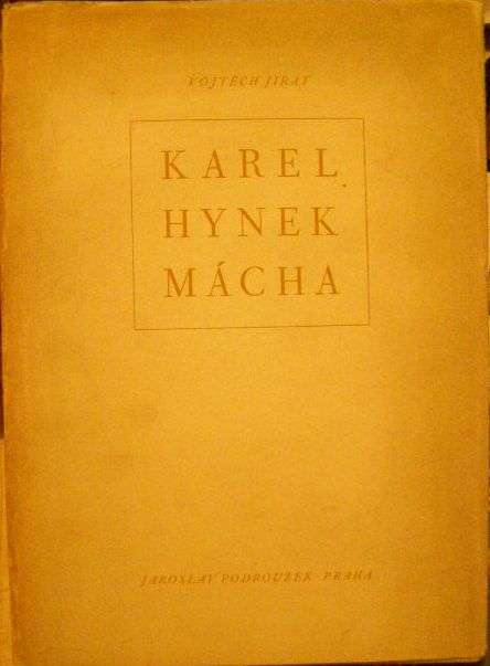 Karel Hynek Mácha - V. Jirát