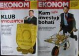 Ekonom 45/2008 a 3/2009 - Kam investují bohatí atd.