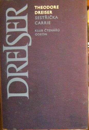 Sestřička Carrie - T. Dreiser