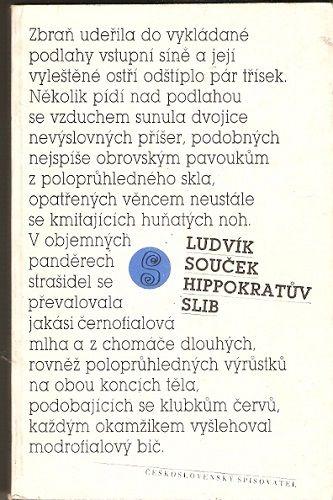 Hippokratův slib - Ludvík Souček