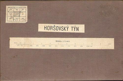 Horšovský Týn (Horažďovice, Klatovy, Přimda atd.) - mapa 1:75 000