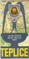 Teplice - plán města 1982