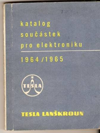 Katalog součástek pro elektroniku Tesla