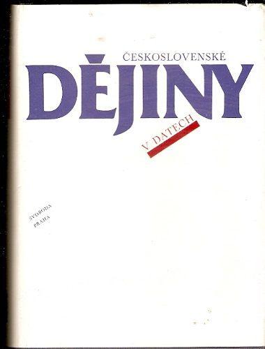 Československé dějiny v datech - kolektiv autorů