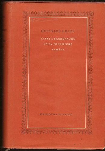 Rabbi z Bacherachu, Spisy polemické, Paměti - H. Heine