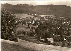 Karlovice ve Slezsku - z pod Obřího vrchu - okr. Bruntál (Jeseníky)