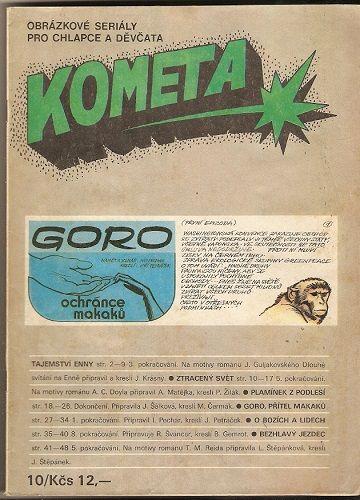 Kometa 10 - Goro, přítel makaků, Bezhlavý jezdec atd.