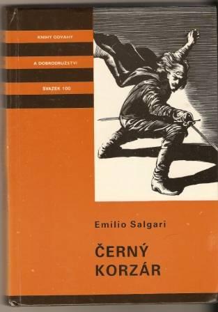 Černý korzár - E. Salgari
