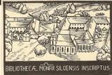 Ex libris Bibliothecae Monrii Siloensis - J. Jůzl