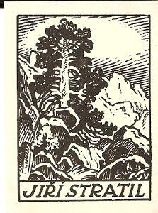 Ex libris Hory - J. Votruba