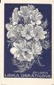 Ex libris  Květy - F. Kobliha