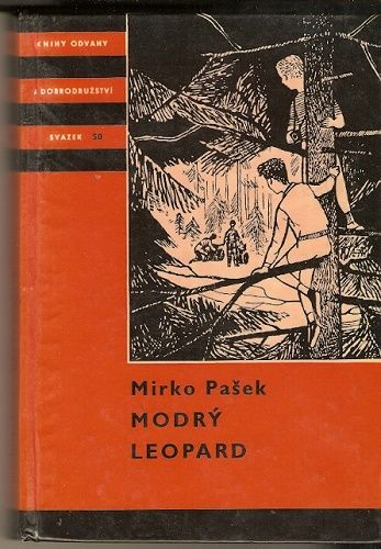 Modrý leopard - M. Pašek