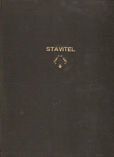Styl 1927 - 1928 a Stavitel 1919 - 1920 - 8 čísel - svázáno do jedné knihy