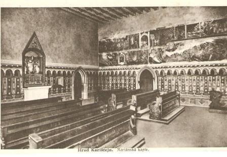 Karlštejn - Mariánská kaple