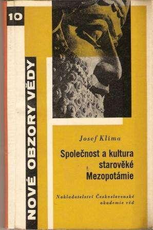 Společnost a kultura starověké Mezopotámie - J. Klíma