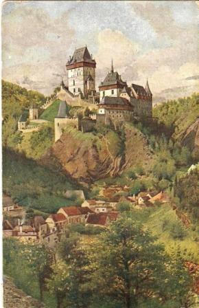 Karlův Týn (Karlštejn) - J. Stibral