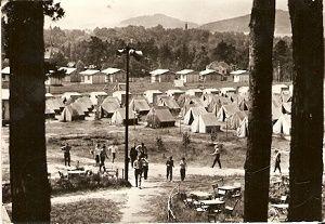 Doksy 1964 - stanový tábor