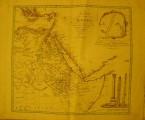 Egypt - stará mapa