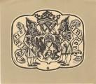 Ex libris Fr. Cinner (Hornická heraldika) - O. Karel