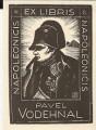 Ex libris Pavel Vodehnal (Napoleonicis) - Jaro Beran