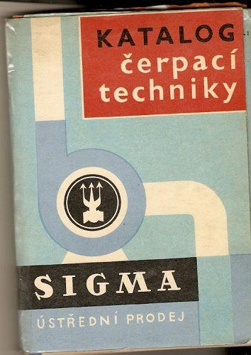 Katalog čerpací techniky Sigma 1969