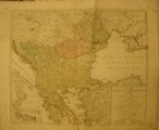 Osmánská říše - Turecko - stará mapa