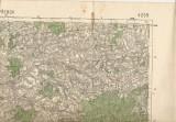 Přerov a okolí 1938 - mapa