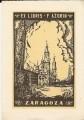 Ex libris F. Azorin - Zaragoza