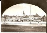 Bruntál - náměstí - 1964