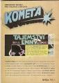 Kometa č. 8 - např. Tajemství Enny, Ztracený svět atd.