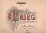 Nordische Weisen, opus 63 - E. Grieg - klavír pro čtyři ruce