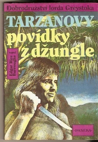 Tarzanovy povídky z džungle - E. R. Burroughs
