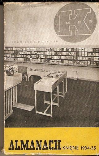 Almanach Kmene 1934 - 35