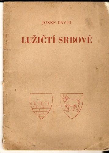 Lužičtí Srbové - J. David
