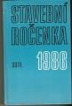 Stavební ročenka 1986