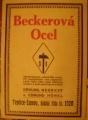 Beckerová ocel - rozkládací katalog