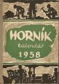 Horník 1958 - kalendář