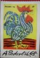 Nástěnný kalendář 1968 - A. Paderlík
